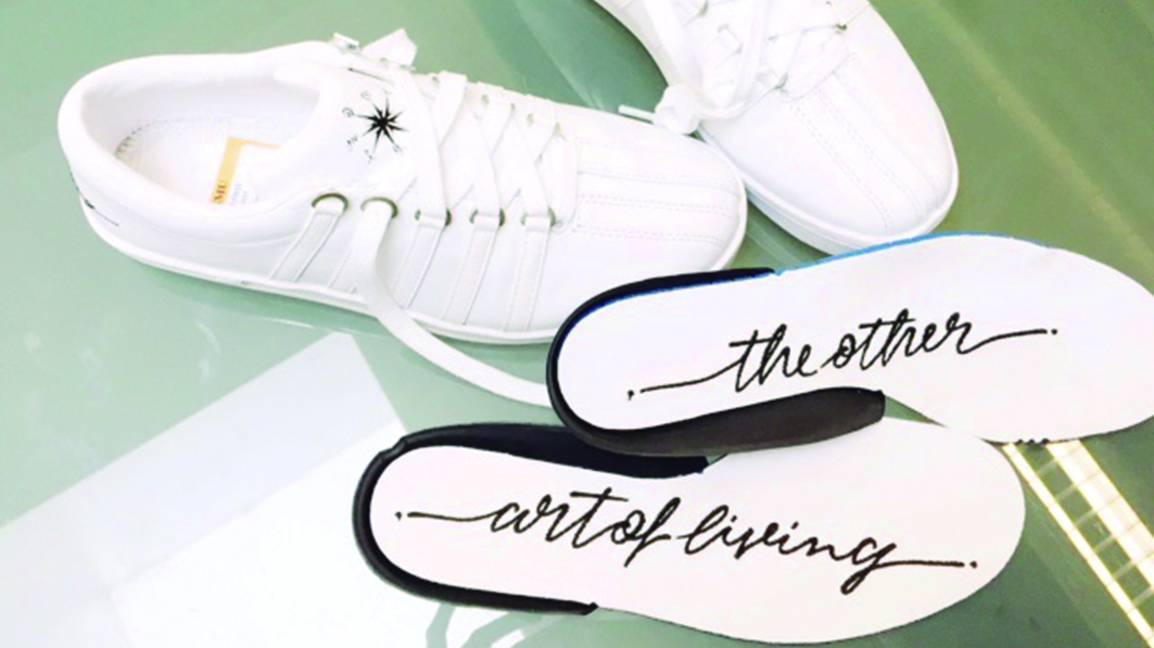 BLOG 'THE OTHER SIDE OF LIVING' x K-SWISS CLASSIC