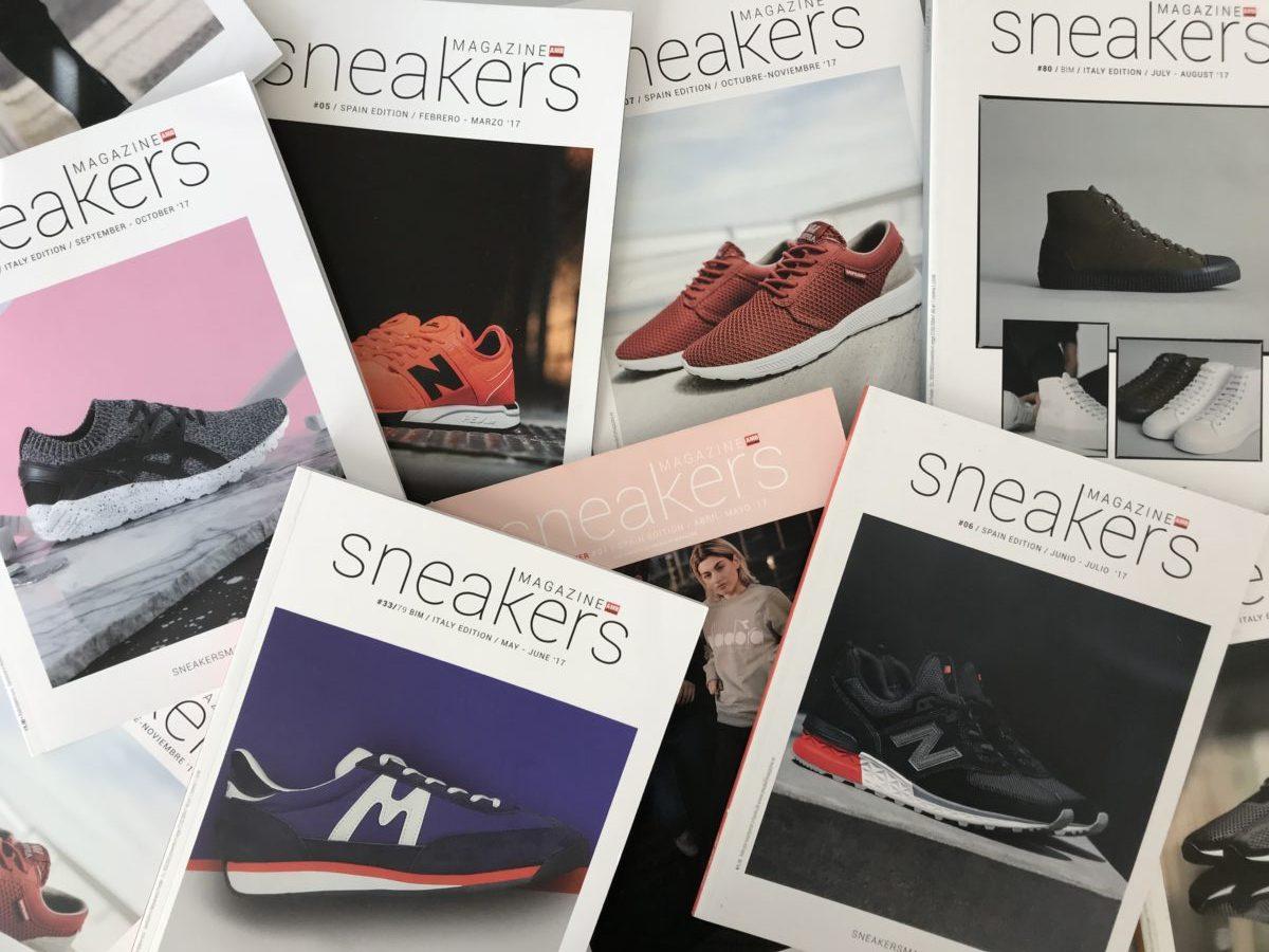 sneakers magazine suscripcion