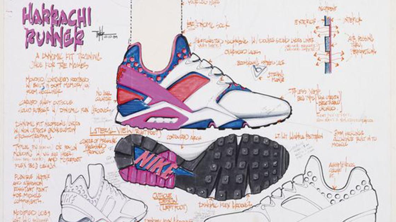 Nike Huarache Kike Marina Sneakers
