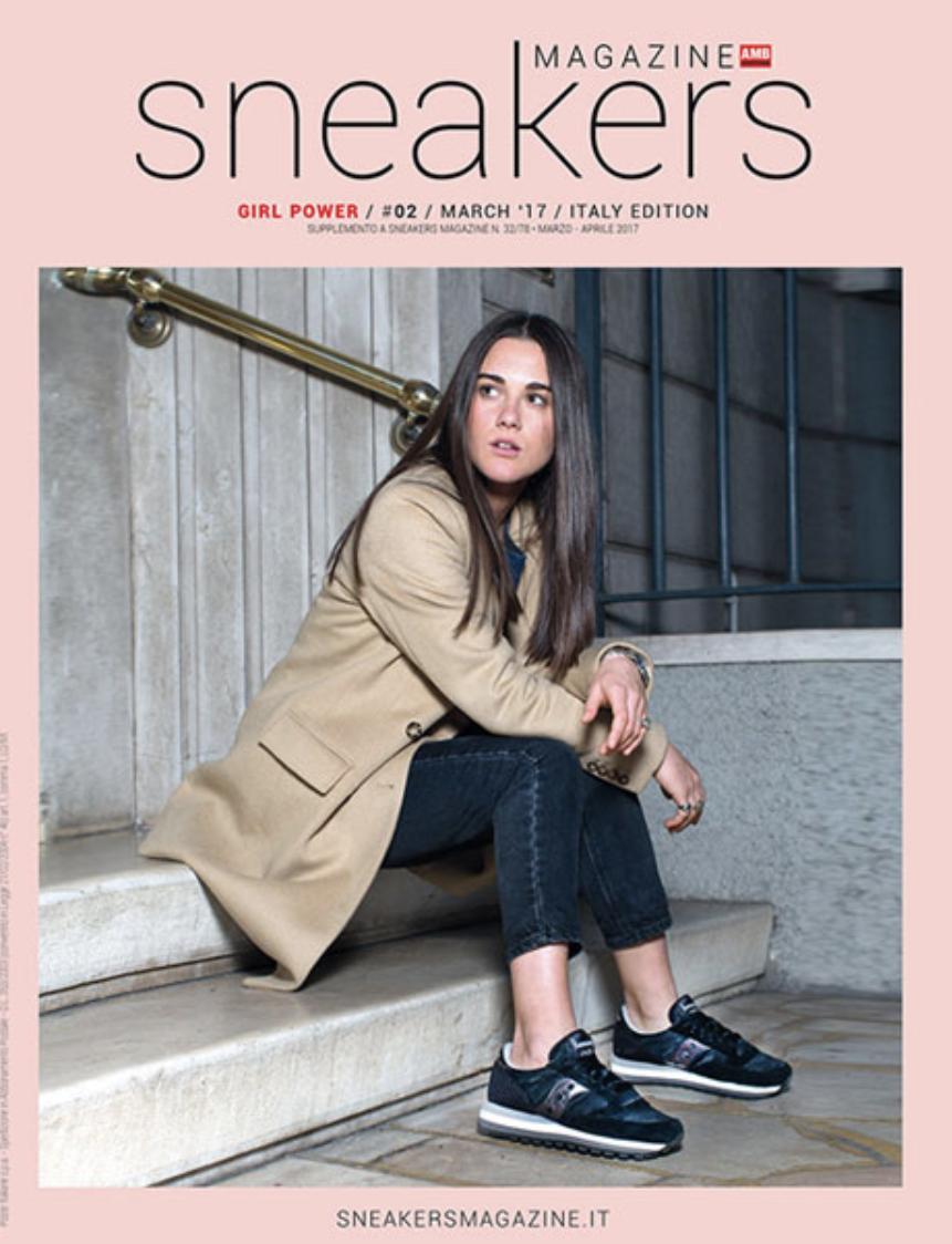 Sneakers Magazine Girl Power Italy #02