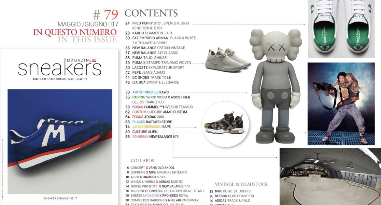 Sneakers Magazine Italy #79