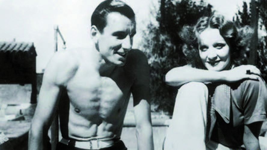 Fred Perry & Marlene Dietrich