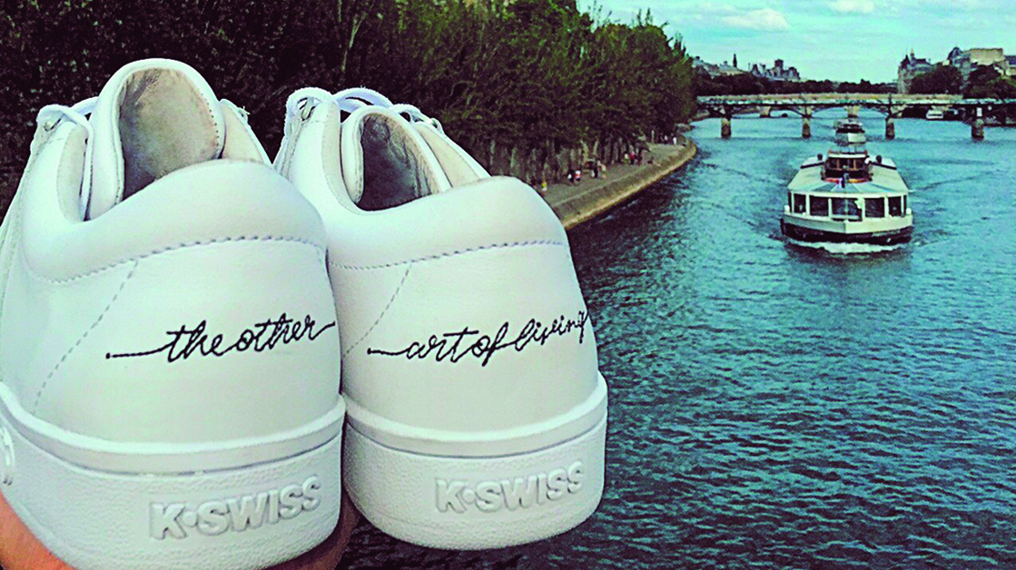 Blog 'The Other Side of Living' & K-Swiss Classic