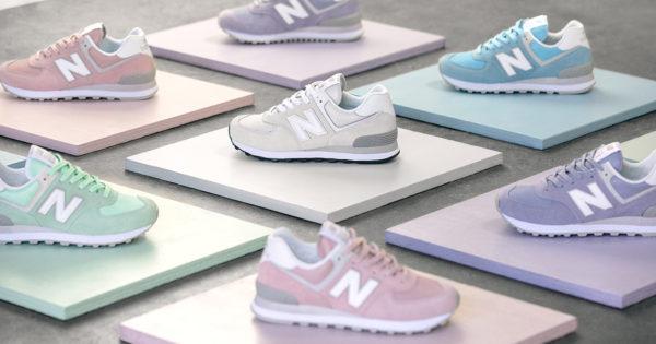 New Balance 574 «Pastel Pack» para mujeres | Sneakers ...