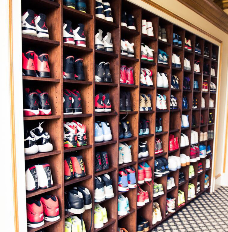 Estanteria sneakers - Sneakers Mgazine