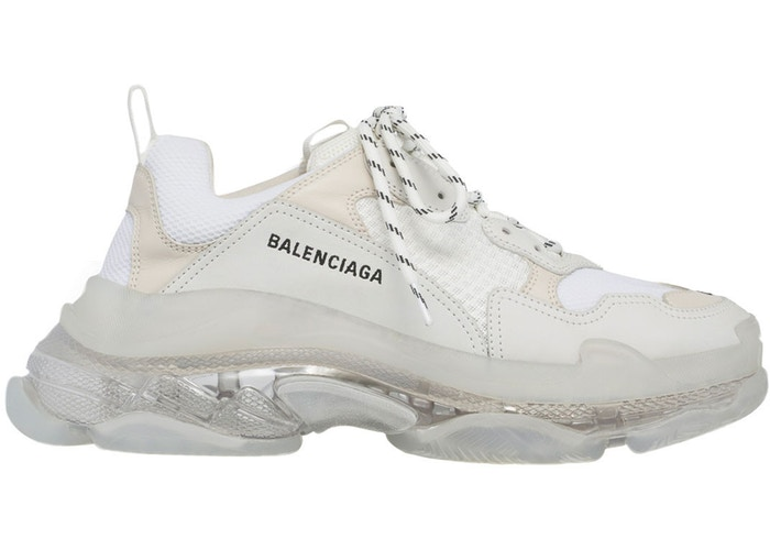 Balenciaga-Triple-S-Clear-Sole-White-1