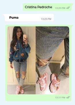 Cristina Pedroche - Puma - Sneakers Magazine