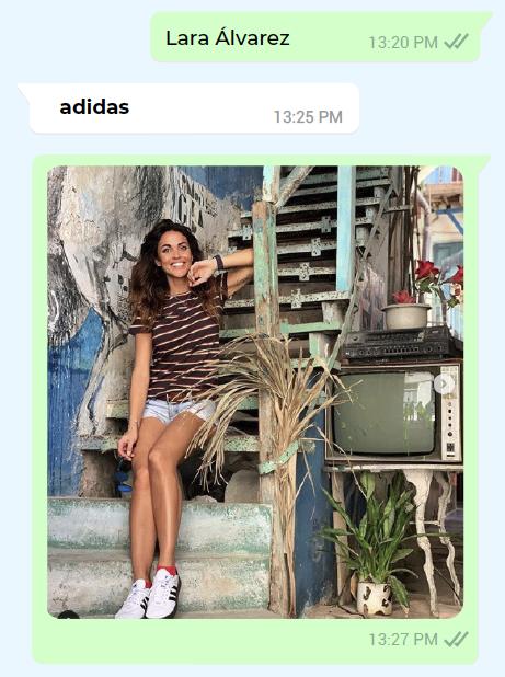 Lara Álvarez - Adidas - Sneakers Magazine