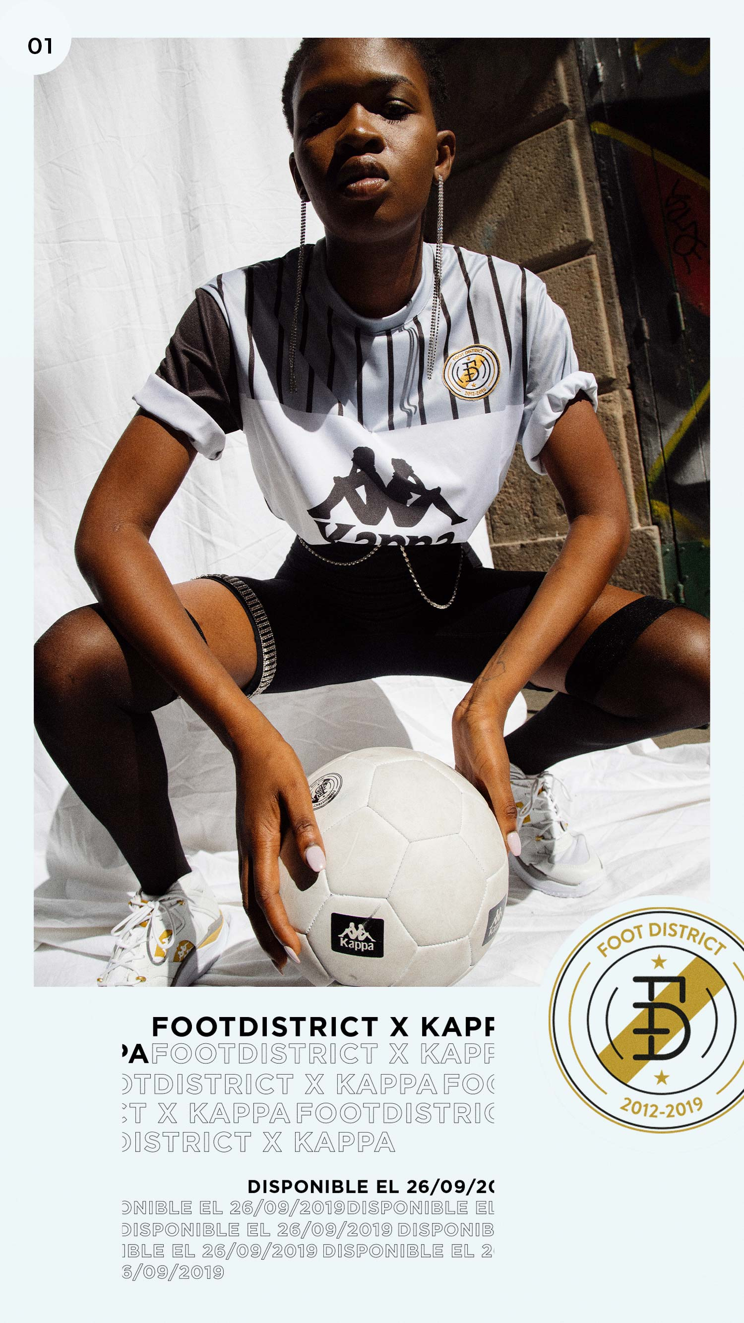 Foot Disrtrict Kappa - Sneakers Magazine